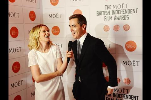 Edith Bowman and James Nesbitt